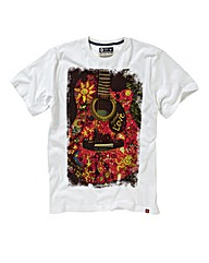 Joe Browns Love Music Guitar T-Shirt L