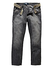 UNION BLUES Delta Tapered Jeans 33 Inch