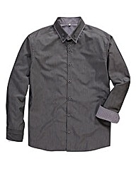 Black Label Cross Dye Pinto Shirt Reg