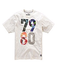 Jacamo Clarke Graphic T-Shirt Long