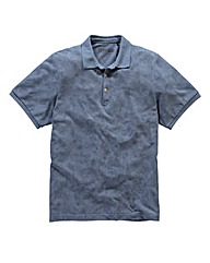 Jacamo Hollywood All Over Print Polo Lng
