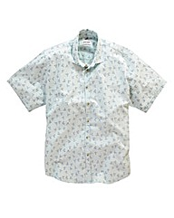 Jacamo Hampton Print Shirt Regular