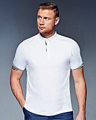 Flintoff by Jacamo Tipped Polo Regular