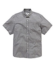 Jacamo Black Archer S/S Check Shirt L