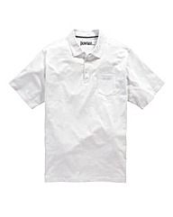 Jacamo Austin Jersey Polo Shirt Long