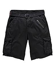 Jacamo Bexar Black Cargo Short