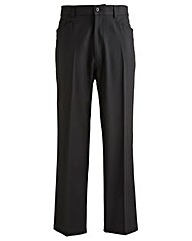 Jacamo Black 5 Pocket Style Trouser 35In