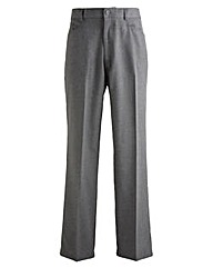 Jacamo Charcoal 5Pocket Trouser 27In