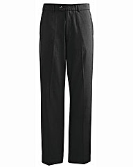Jacamo Pinstripe Tapered Trouser 35In