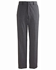 Jacamo Black Tapered Leg Trouser 27In