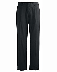 Jacamo Black Tapered Leg Trouser 33In