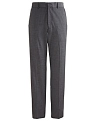 Jacamo Charcoal Bootcut Trouser 31In