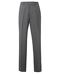 Jacamo Charcoal Easy Care Trousers 35In