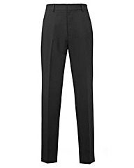 Jacamo Black Easy Care Trousers 35In