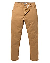 Jacamo Tobacco Tapered Chino 33in