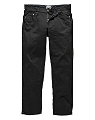 UNION BLUES Black Gaberdine Jeans 29 In