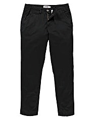 Jacamo Black Basic Chino 33In
