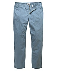 Jacamo Dusky Blue Tapered Chino 33in