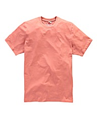 Jacamo Coral Dallas Crew Tee Regular