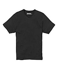 Jacamo Black Titus Basic V-Tee Long