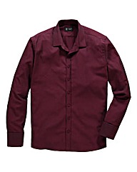 Black Label York Herringbone Shirt Reg