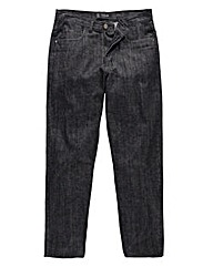 Black Label By Jacamo Sutton Jeans 33in