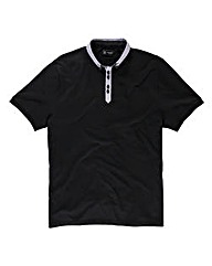 Black Label By Jacamo Worsley Polo Long