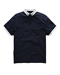 Black Label By Jacamo Heaton Polo Reg