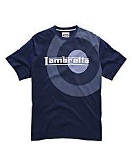 Lambretta Oversized Target T-Shirt Long