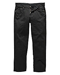 UNION BLUES Black Gaberdine Jeans 27in