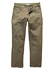 UNION BLUES Khaki Gaberdine Jeans 33 In