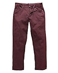 UNION BLUES Wine Gaberdine Jeans 29 Inch