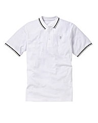 Jacamo White Tipped Polo Long