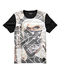 Crosshatch Bandana Girls T-Shirt