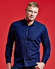 Freddie Flintoff Jacquard Shirt Long