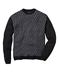 Label J Crewe Knit Jumper Reg