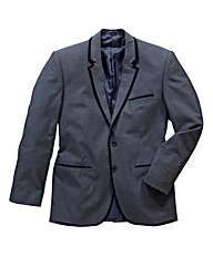 Black Label Berne Tipped Blazer Long