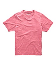 Jacamo Red Titus Basic V-Tee Regular