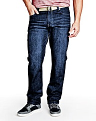 UNION BLUES Preston Loose Fit Jeans 33in