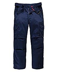 Jacamo Navy Carson Cargo Pant Long
