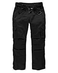 Jacamo Black Carson Cargo Pant Short