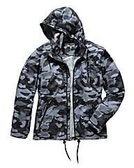 Label J Camo Lightweight Jacket Long