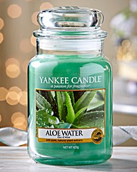 Yankee Candle Aloe Water Large Candle