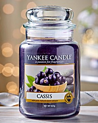 Yankee Candle Cassis Large Candle Jar