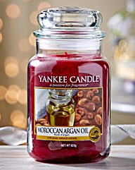 Yankee Moroccan Argan Oil Candle Jar