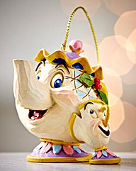 Mrs Potts & Chips Hanging Ornament