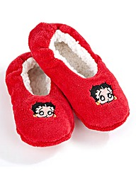Betty Boop Snuggle Slippers