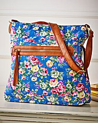 Madison Floral Shopper