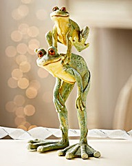 Leap Frogs Ornament