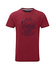 Tog24 Galaxy Mens T-shirt Downhill